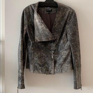 Jackets & Blazers - Statement 100% leather jacket, biker style